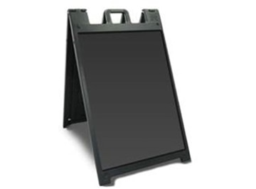 Picture of Black Sandwich Board (Blank)