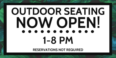 Picture for category Outdoor Seating Now Open