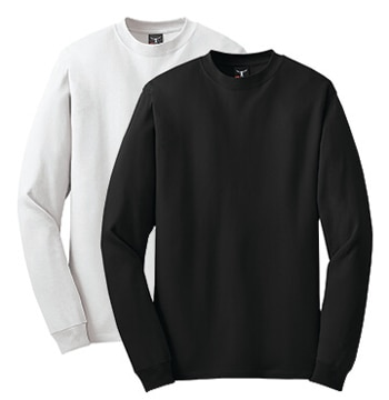 Picture of Hanes Beefy Long Sleeve