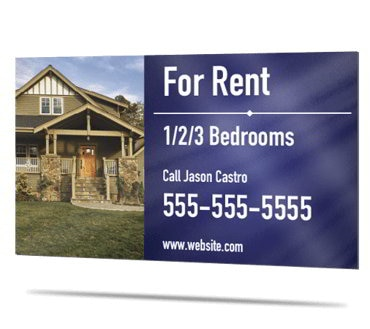 Picture for category For Rent Signs