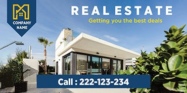 Picture for category Real Estate Banners