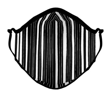Picture of AdultL Mask Modern Zebra