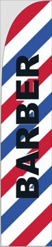 Picture of Feather Flag - Barber/Beauty 1