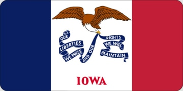 Picture of Flags - Iowa
