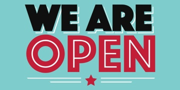 Picture of We're Open 5